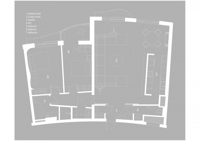 furniture plan drawing