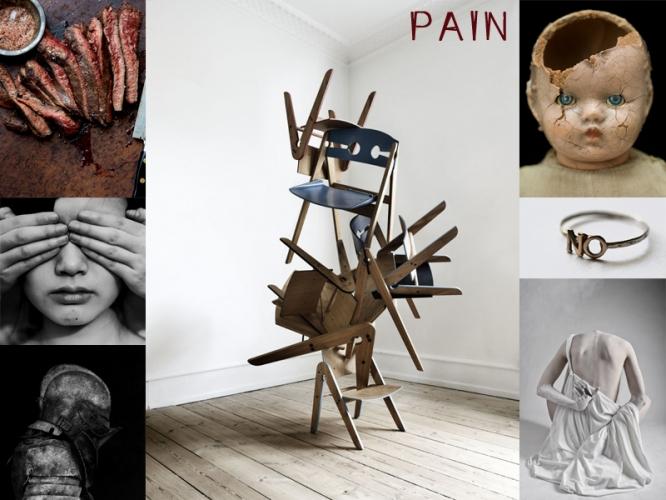 pain moodboard