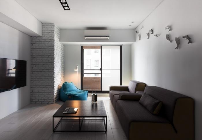 modern flat interior design