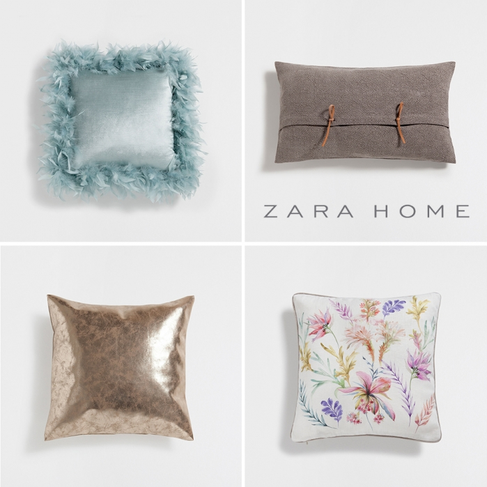 pillows zara home