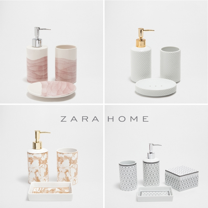 zara home bathroom accessories