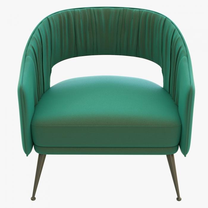 zalios spalvos sofa