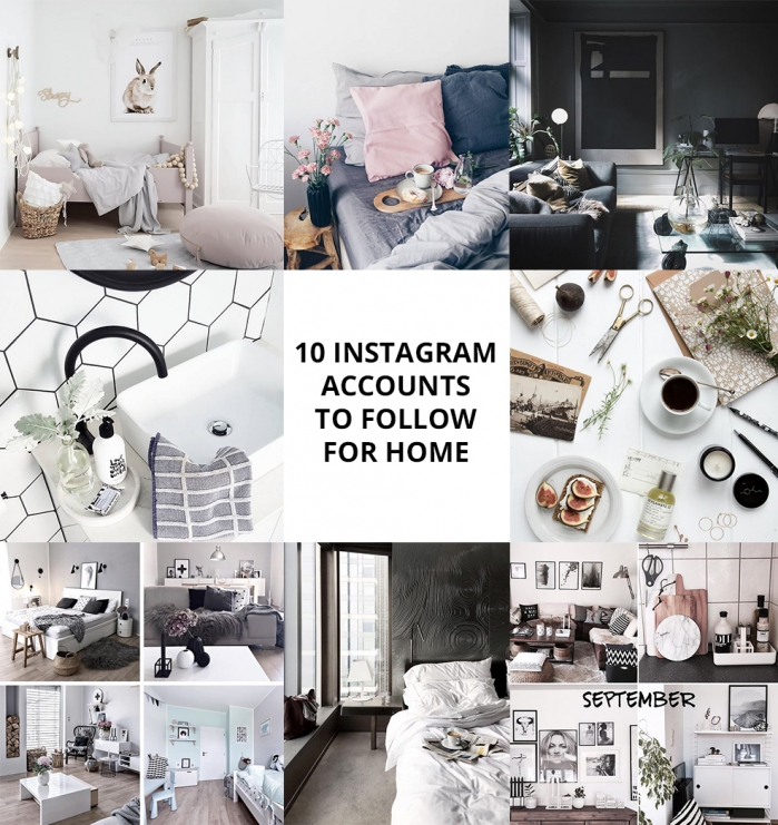 10 istagram accounts to follow for home