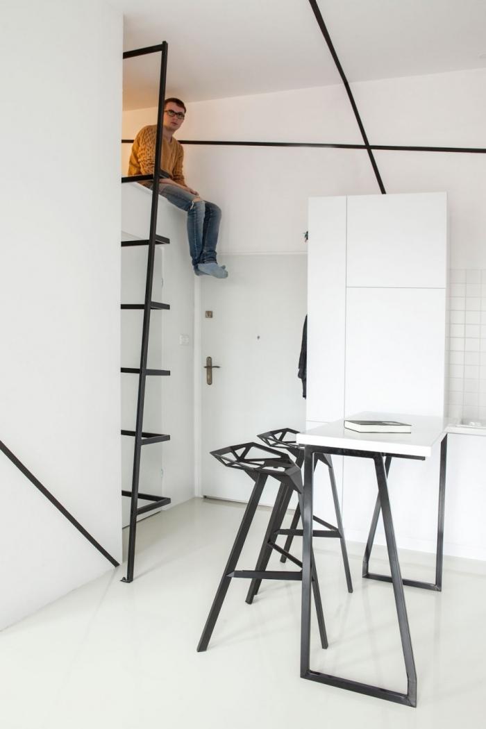 mezzanine in flat