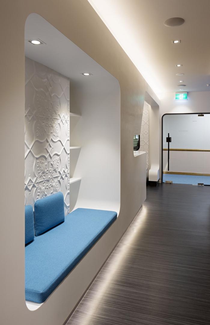 clinic's interior