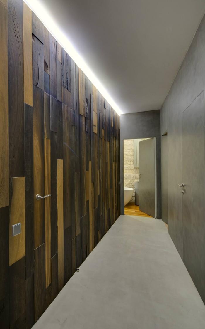 wall ideas for corridor