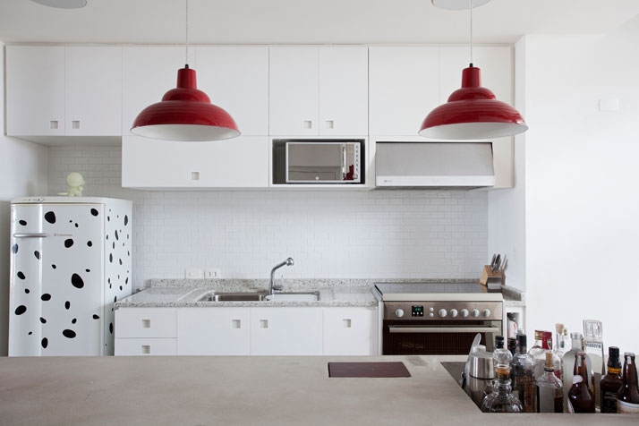 moder loft kitchen