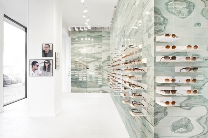 eyeglasses wall