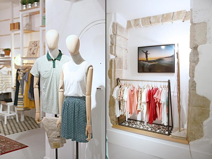 drabužių parduotuvė prancūzijoje