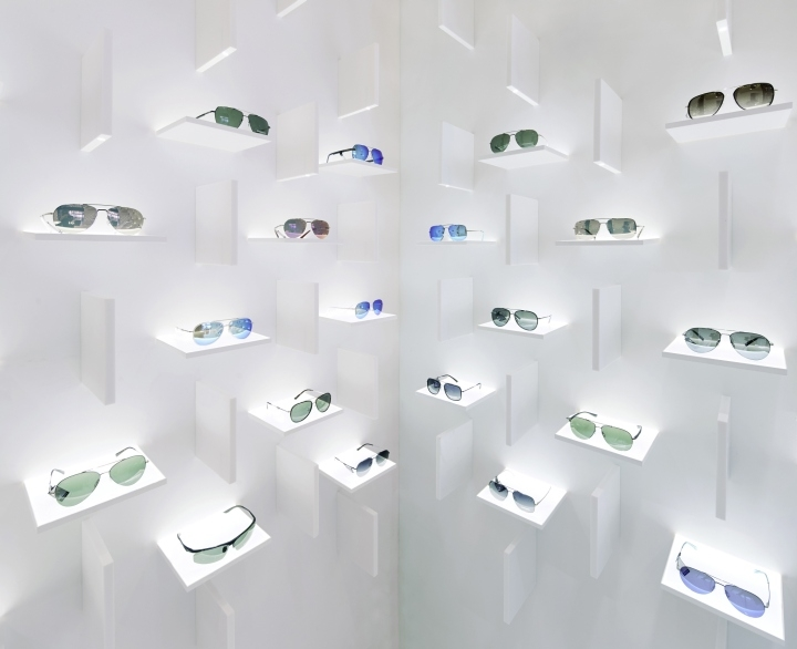 sunglasses showroom