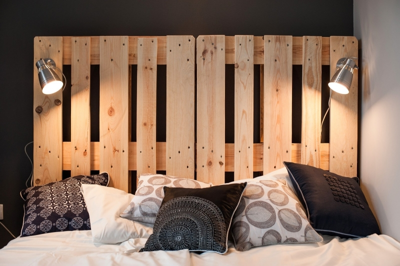 euro pallets bed