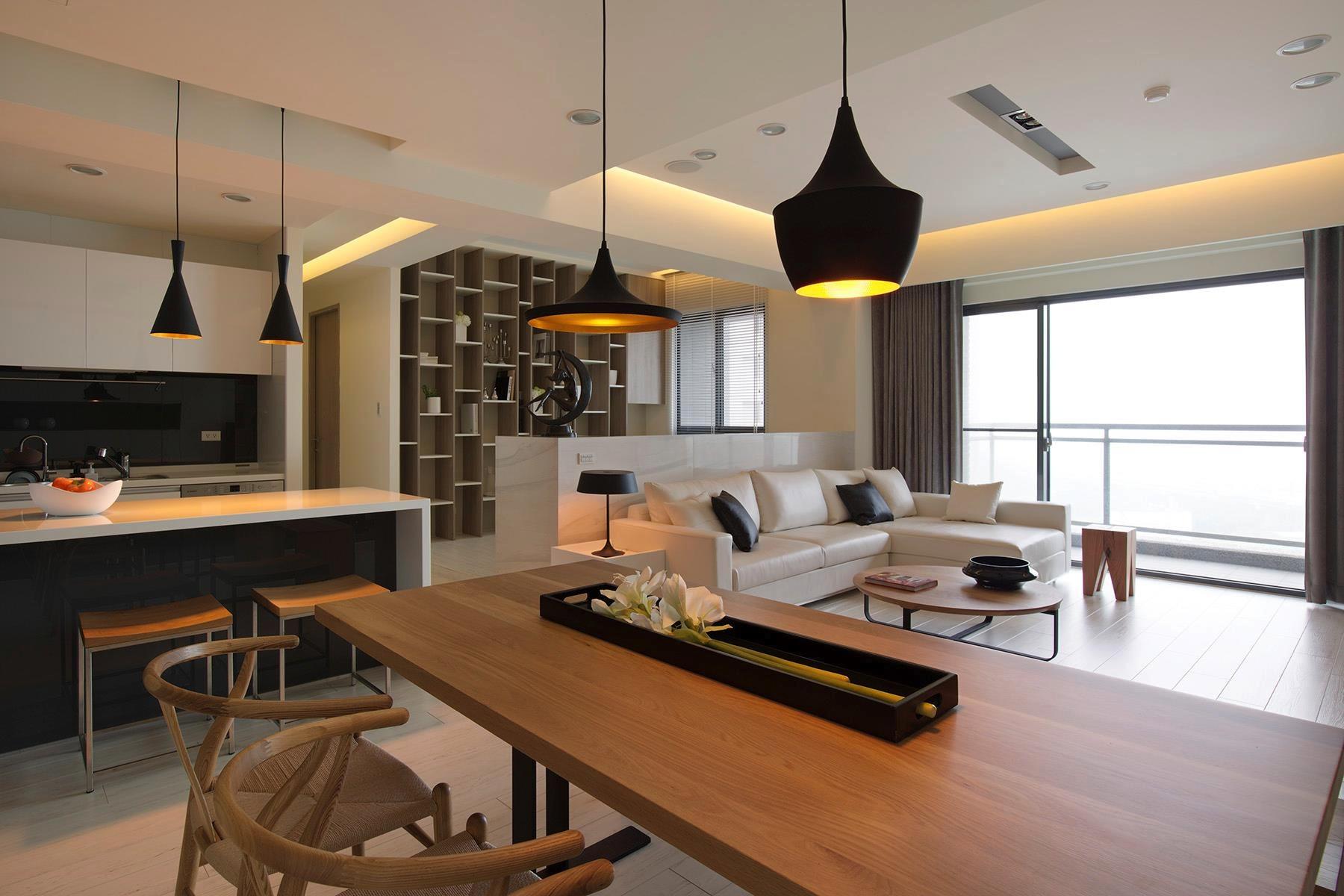 home designingcom modern scandinavian interior Modern apartment