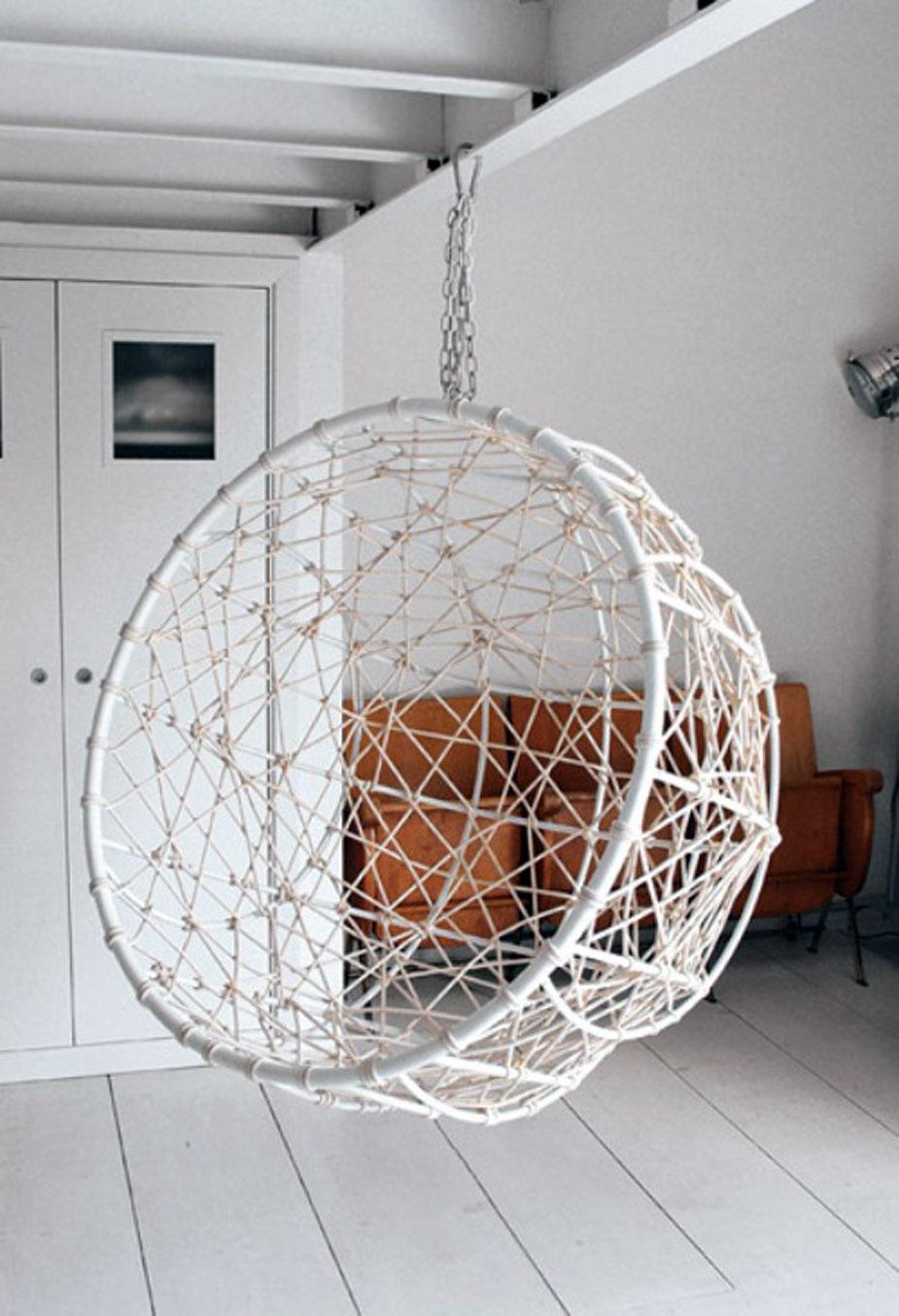 Hanging Chairs Viskas Apie Interjera