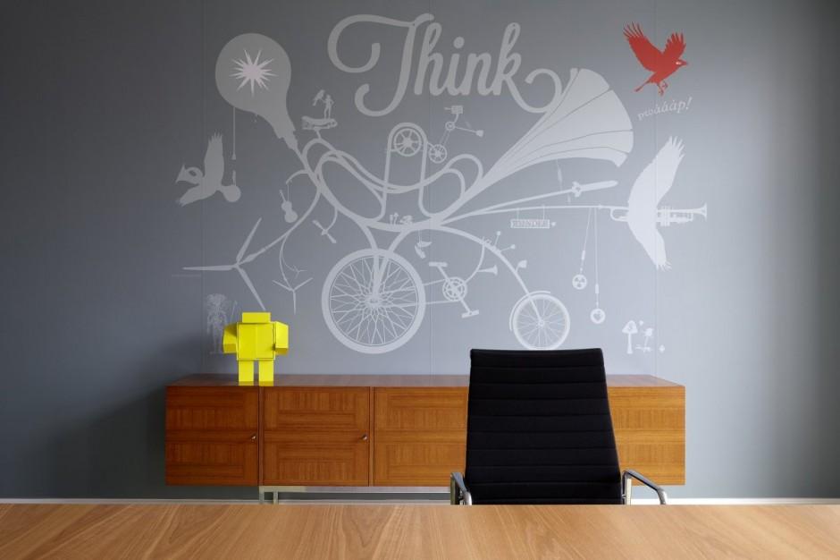 wallpaper designs for office. Psfk.com · Ideas For Wall Decorating Wallpaper Designs Office