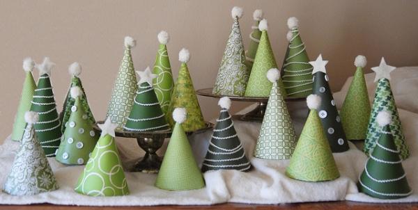 Weihnachtsbasteln Papier.Christmas Decorations Viskas Apie Interjerą