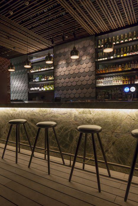 Bar Design In A Public Interior Viskas Apie Interjer