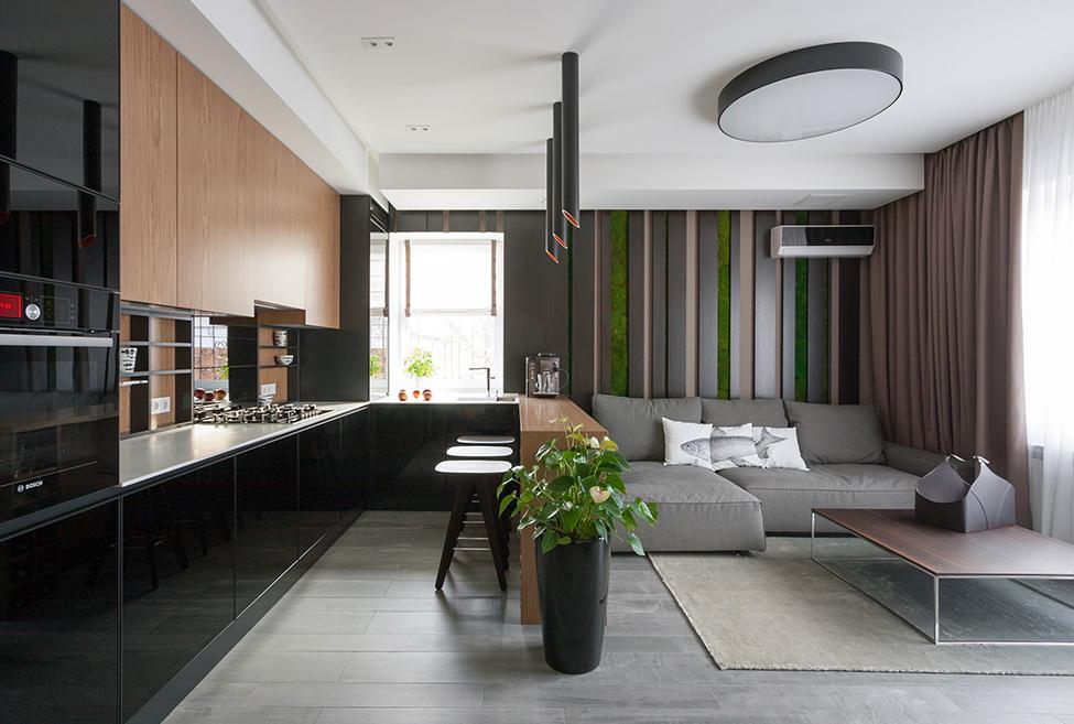 Tamsios spalvos namuose viskas apie interjer for Wohnideen modern