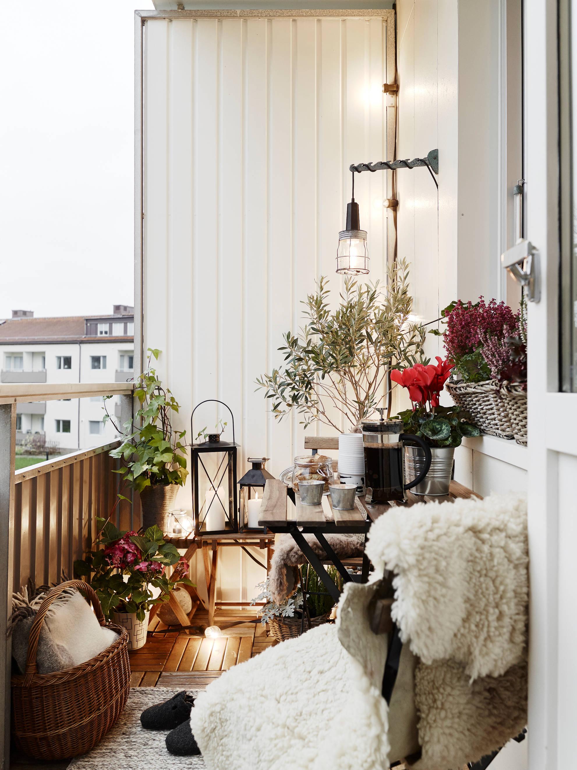 Open balcony ideas - Viskas apie interjerą