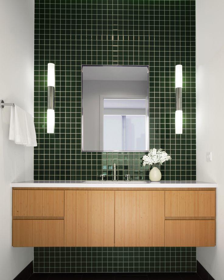 Dark Green Small Bathroom: Viskas Apie Interjerą