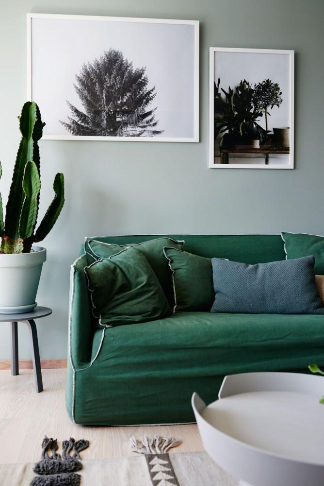Bestrooms.tumblr.com · Green Sofa