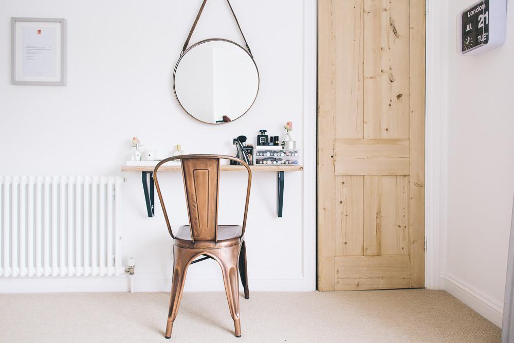 Makeup table design ideas - Viskas apie interjerą