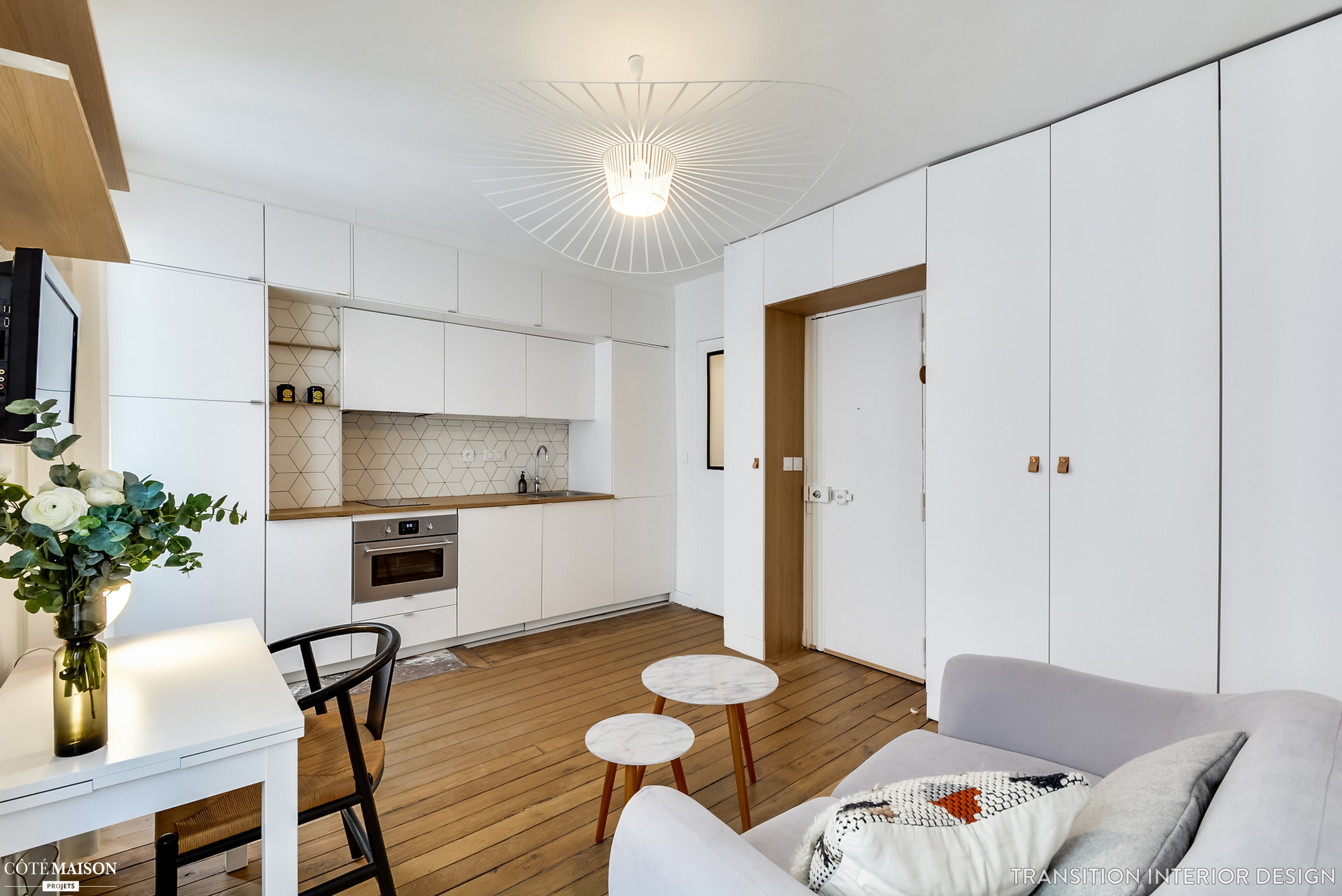 25 Sq M Apartment Interior Again In Paris Viskas Apie
