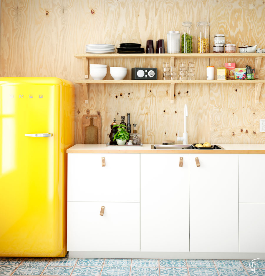 Fongwan.net · Smeg Yellow