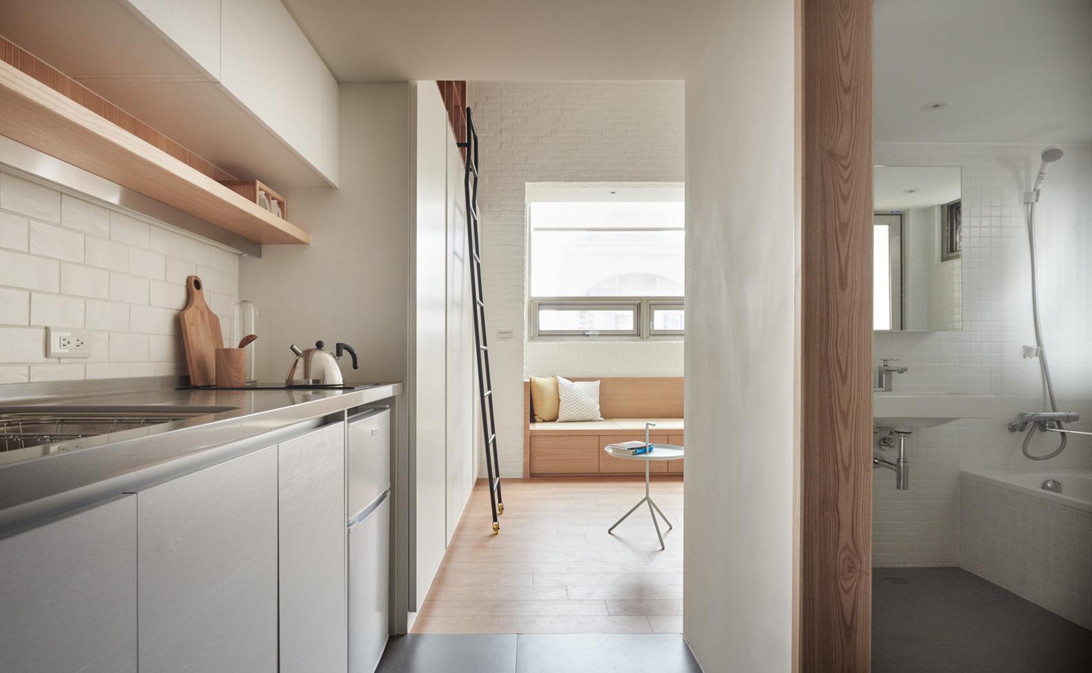 22 Sq M Apartment Interior In Taiwan Viskas Apie Interjerą