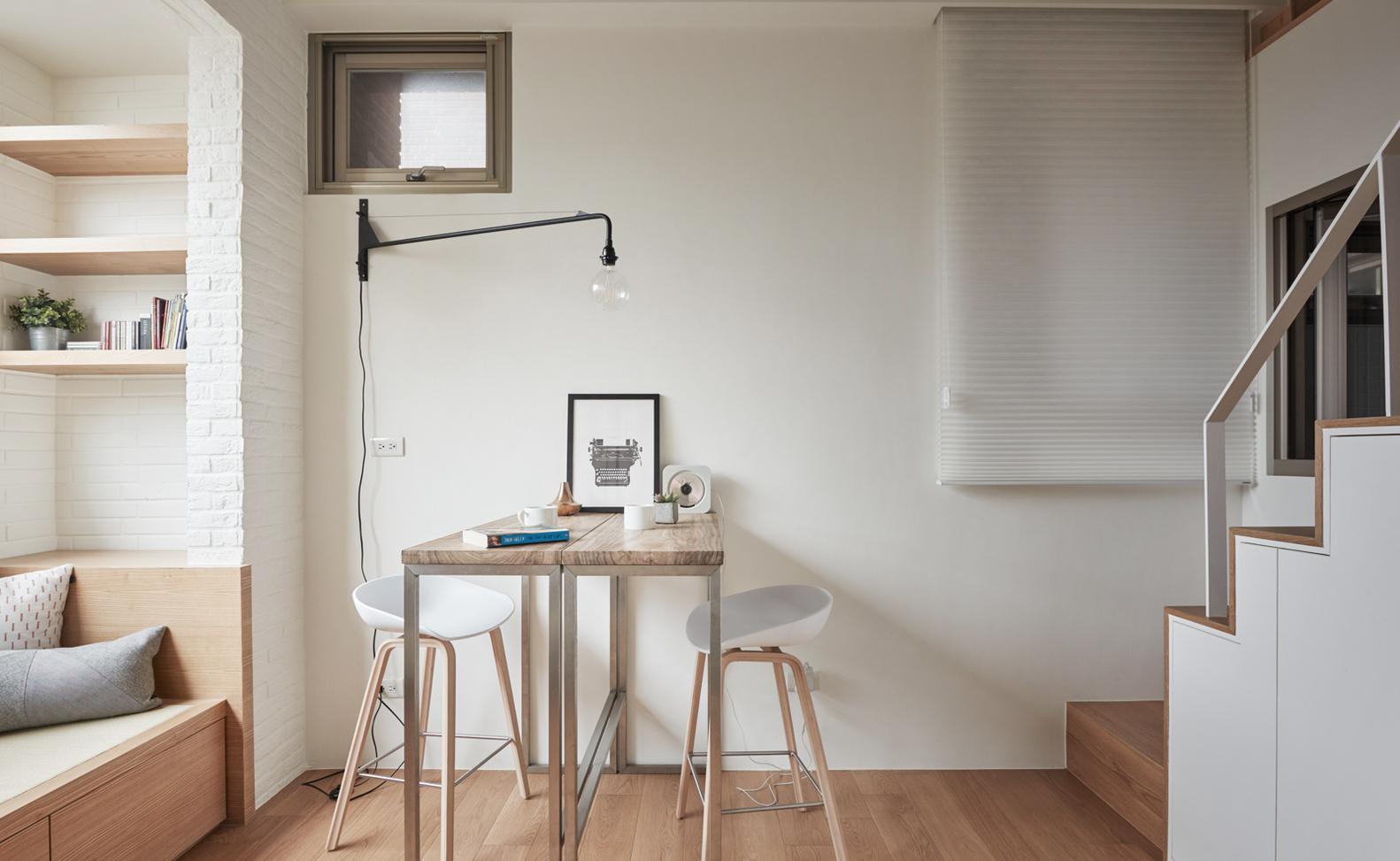 22 Sq M Apartment Interior In Taiwan Viskas Apie Interjer