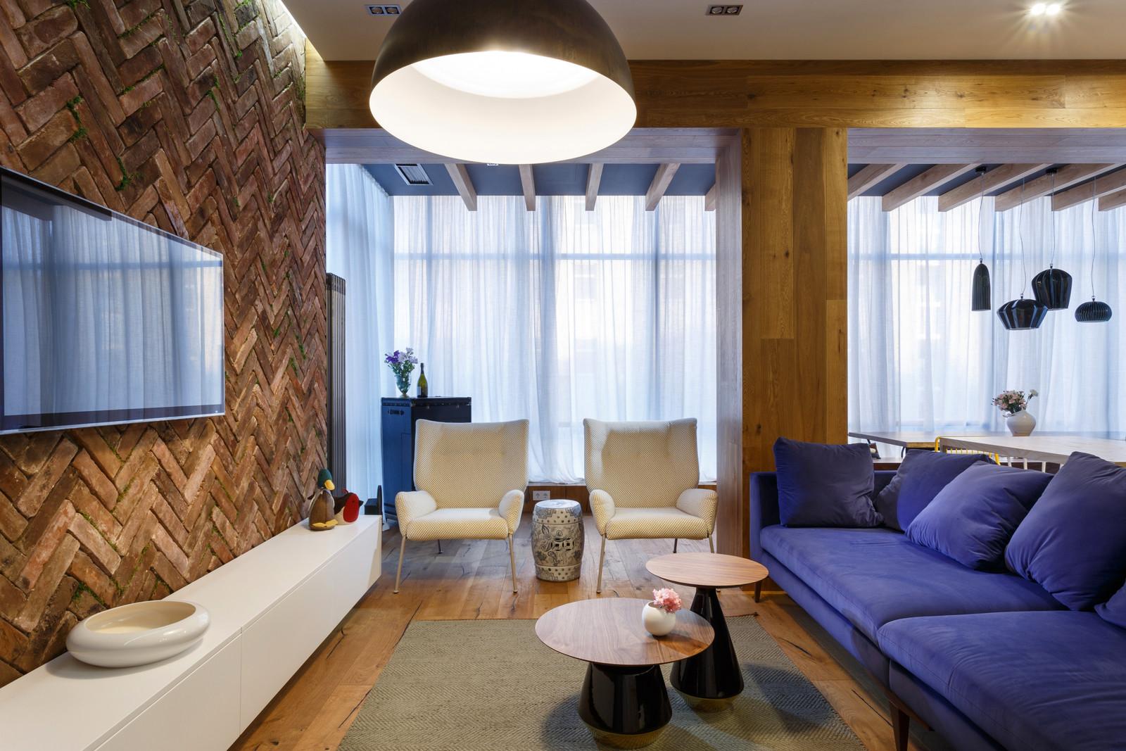 Vivid and original apartment in ukraine