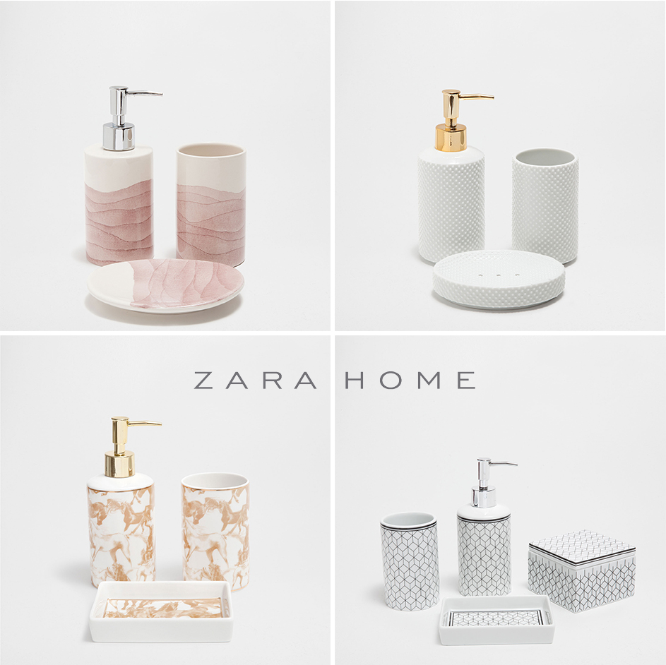 Zara home bathroom accessories brightpulseus for Beekman home bathroom accessories
