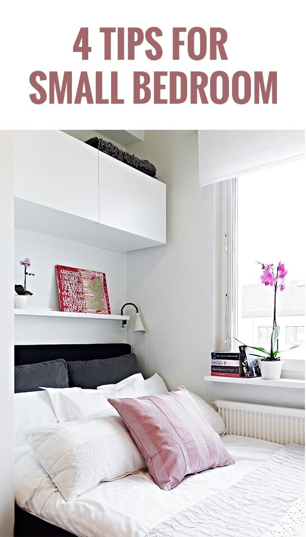 4 Tips For Small Bedroom Viskas Apie Interjera
