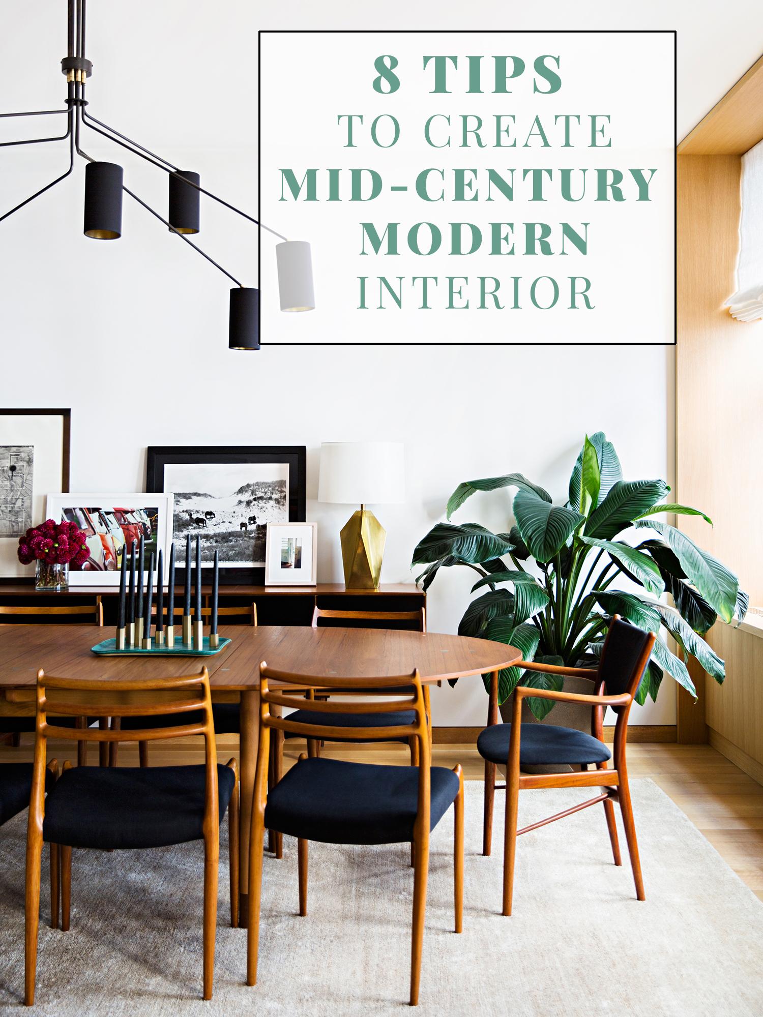 Mid Century Modern Interior Style Viskas Apie Interjerą