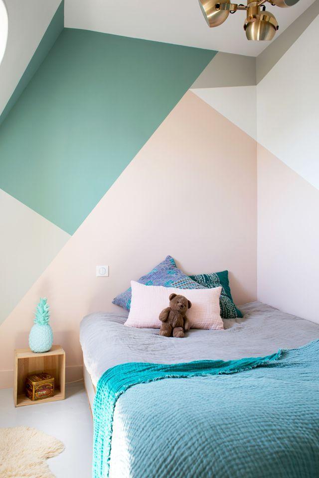 Geometric Wall Painting Ideas Viskas Apie Interjera