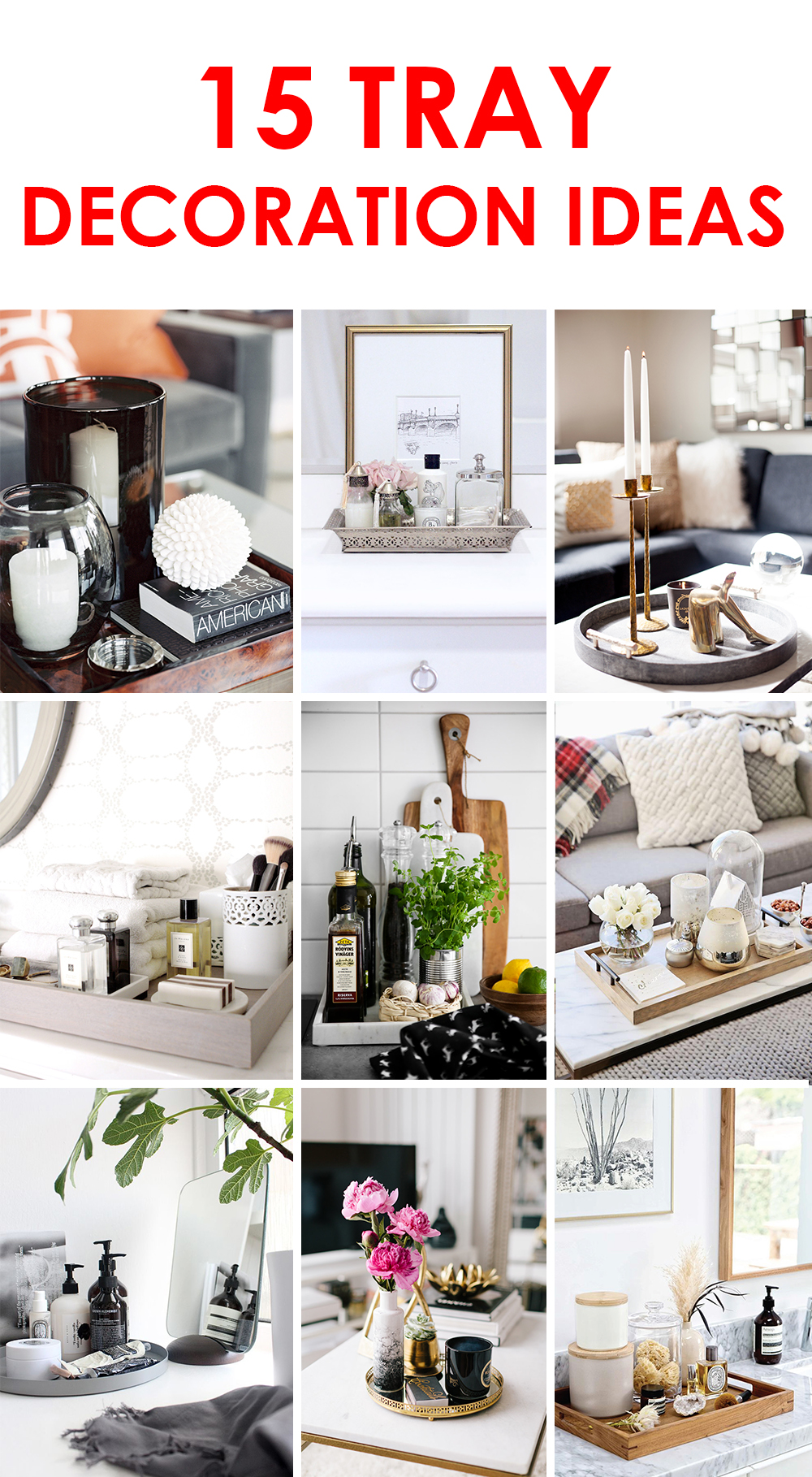 I M Not Surprised About Such Their Pority That S A Rather Convenient Way To Neatly Group Interior Details And Accessories For The Tray Decoration