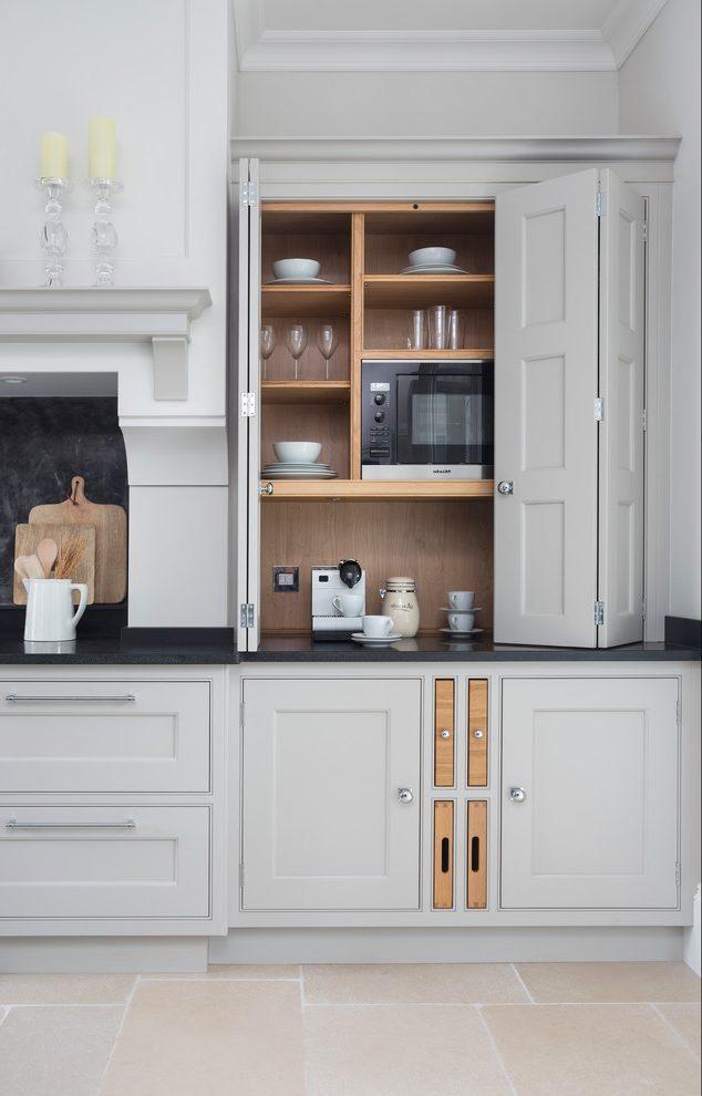 Microwave Storage Ideas In The Kitchen